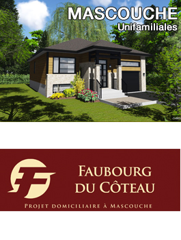 Projet résidentiel de Mascouche (Rive-Nord)