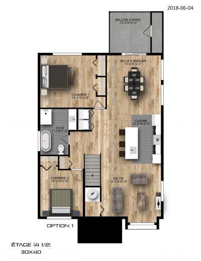 étage-option-1-Condo-Ste-Marthe-sur-le-lac
