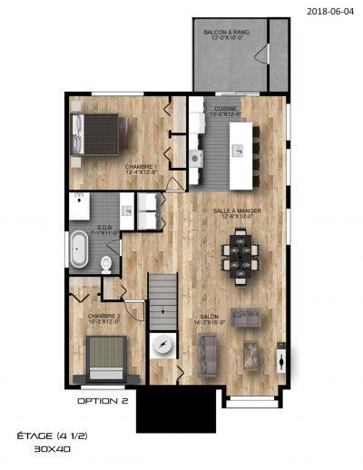 étage-option-2-Condo-Ste-Marthe-sur-le-lac